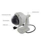 Bezpečnostní voděodolná Ip kamera H.264 1 Mega Pixels IR WIFI