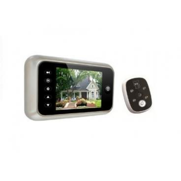 Digitální dveřní kukátko a zvonek PY-V518